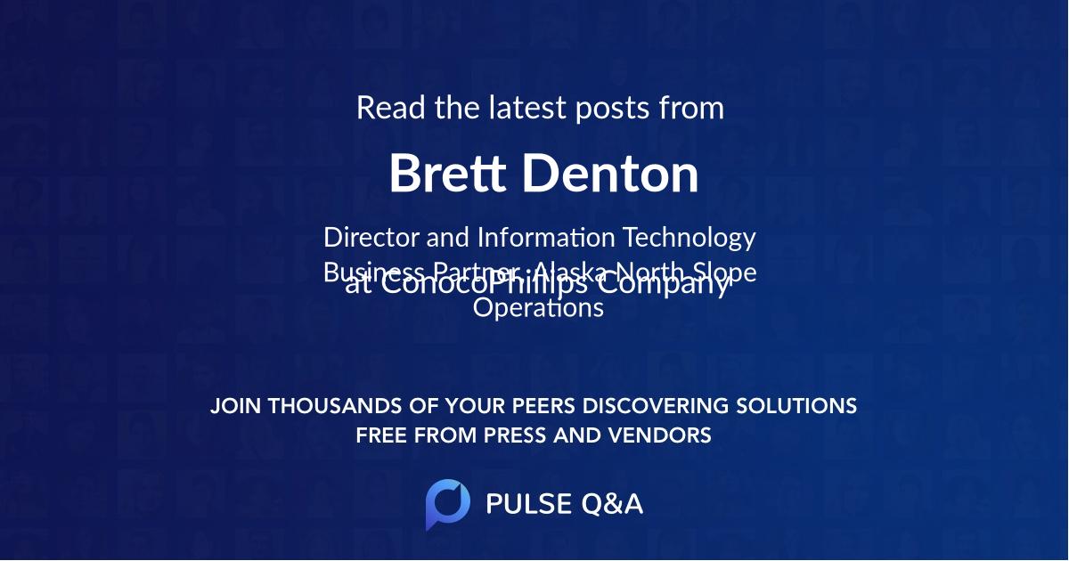Brett Denton