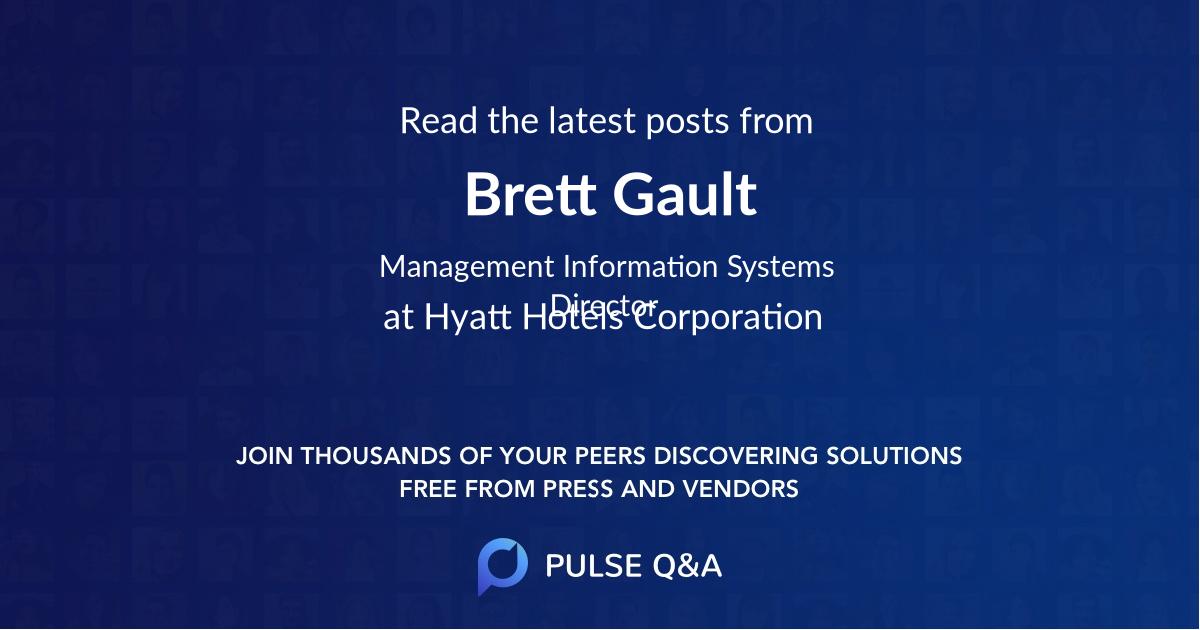 Brett Gault