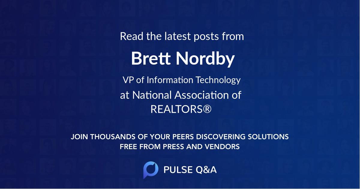 Brett Nordby