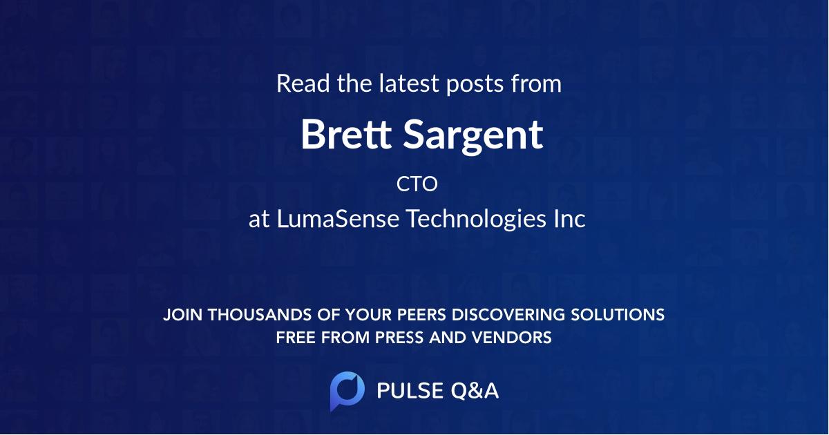 Brett Sargent