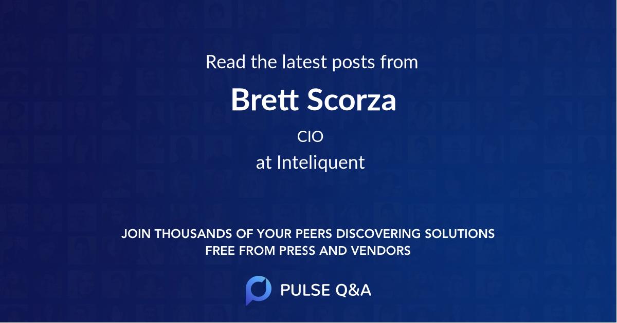 Brett Scorza