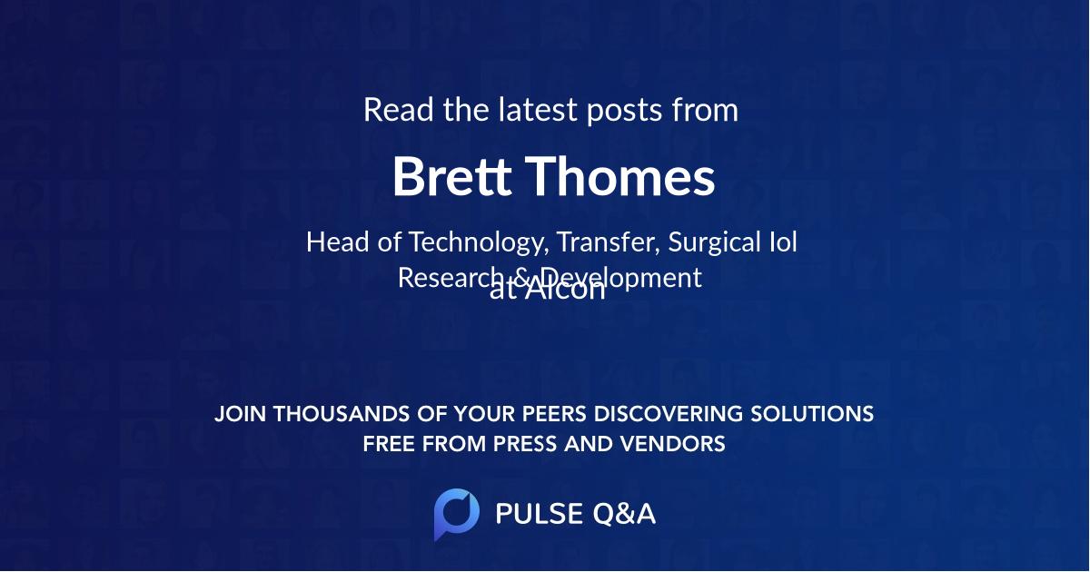 Brett Thomes