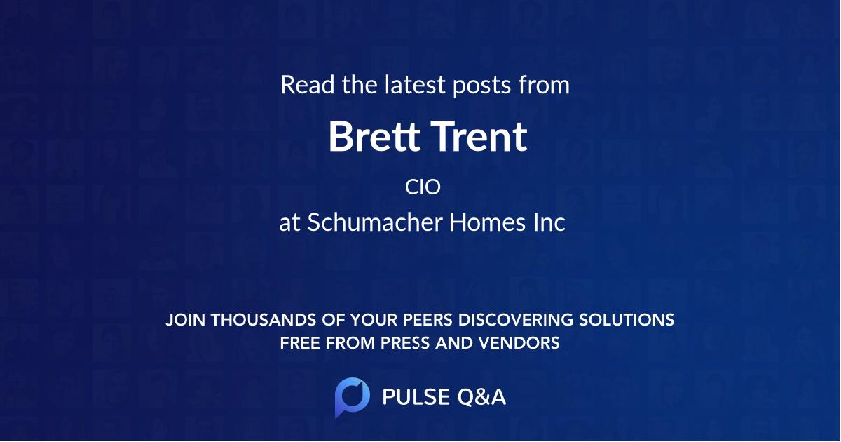 Brett Trent