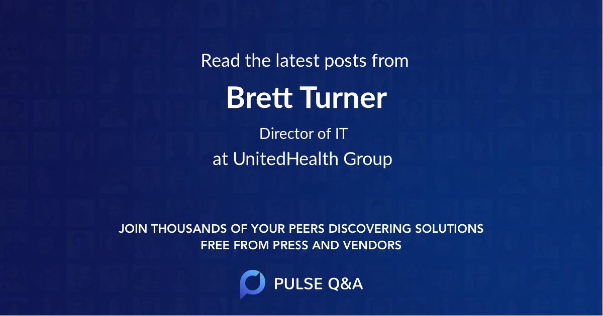 Brett Turner