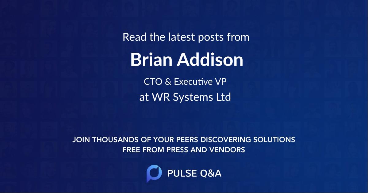 Brian Addison