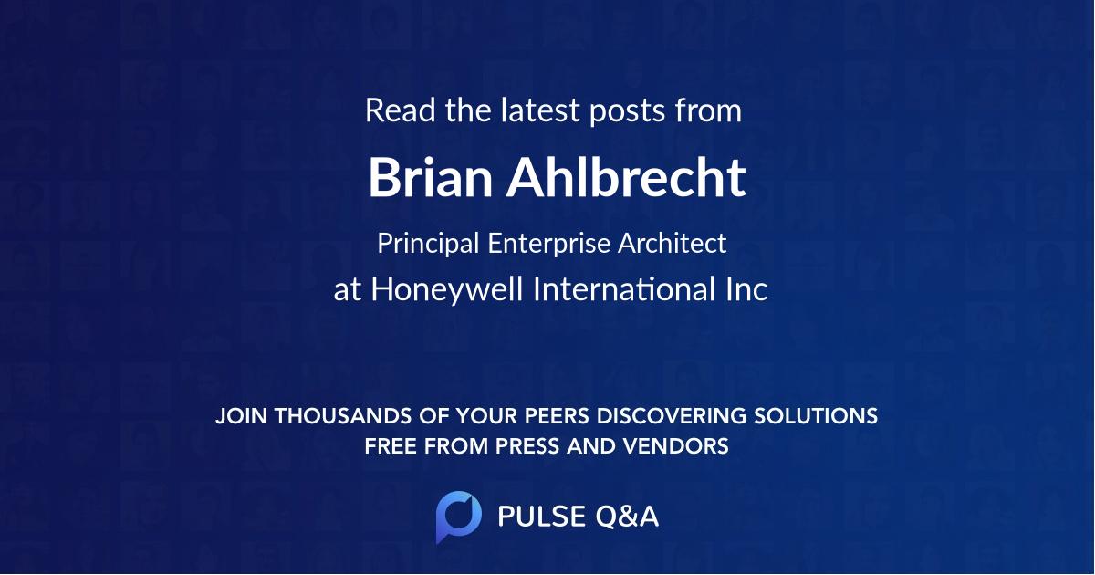 Brian Ahlbrecht