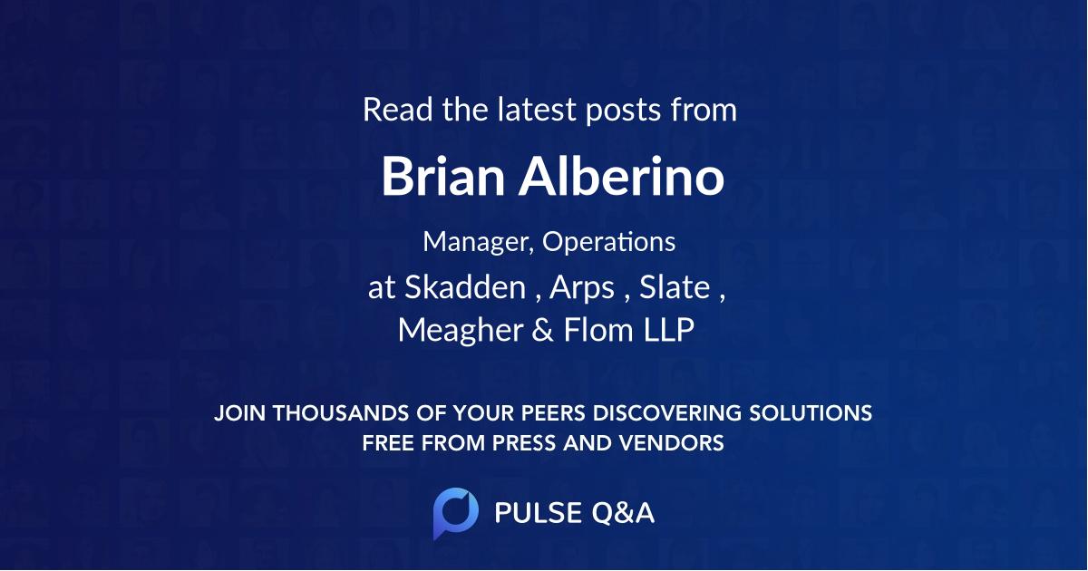Brian Alberino