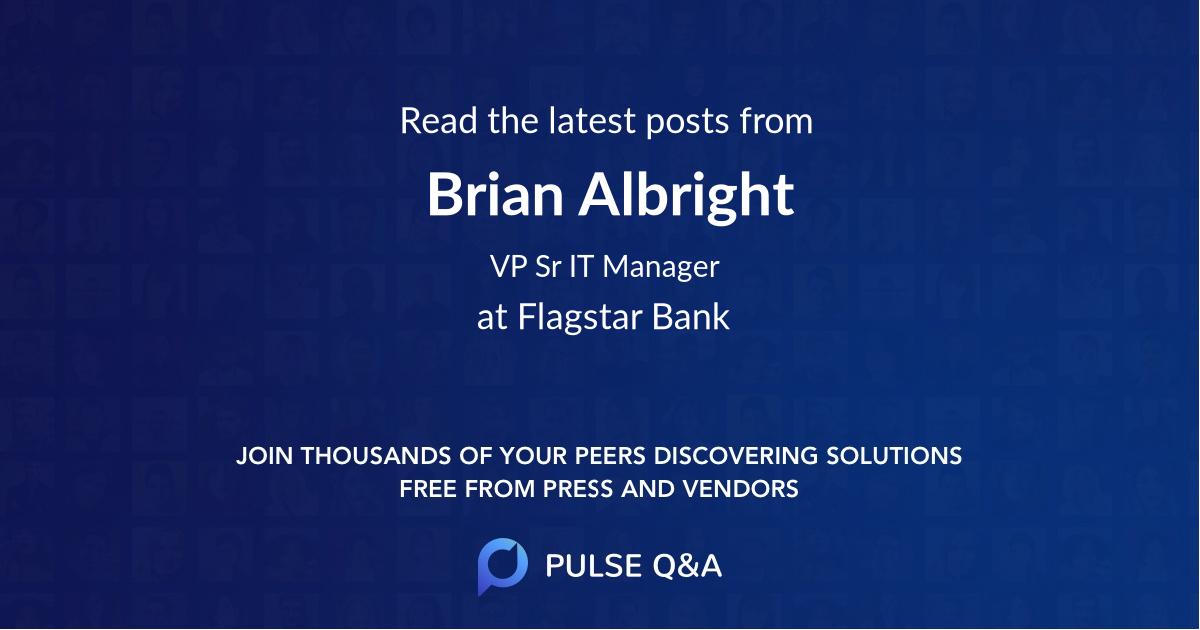 Brian Albright
