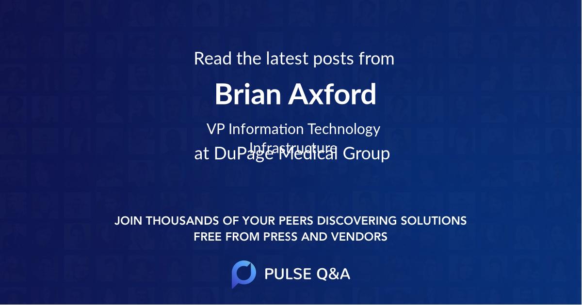 Brian Axford