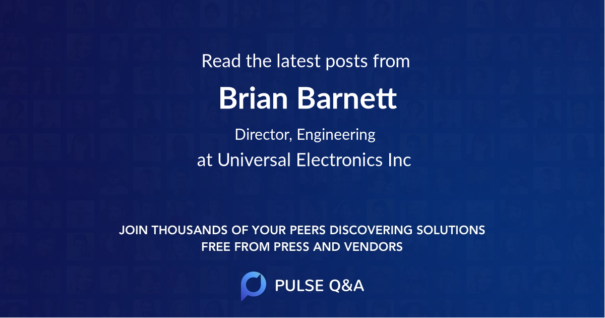 Brian Barnett