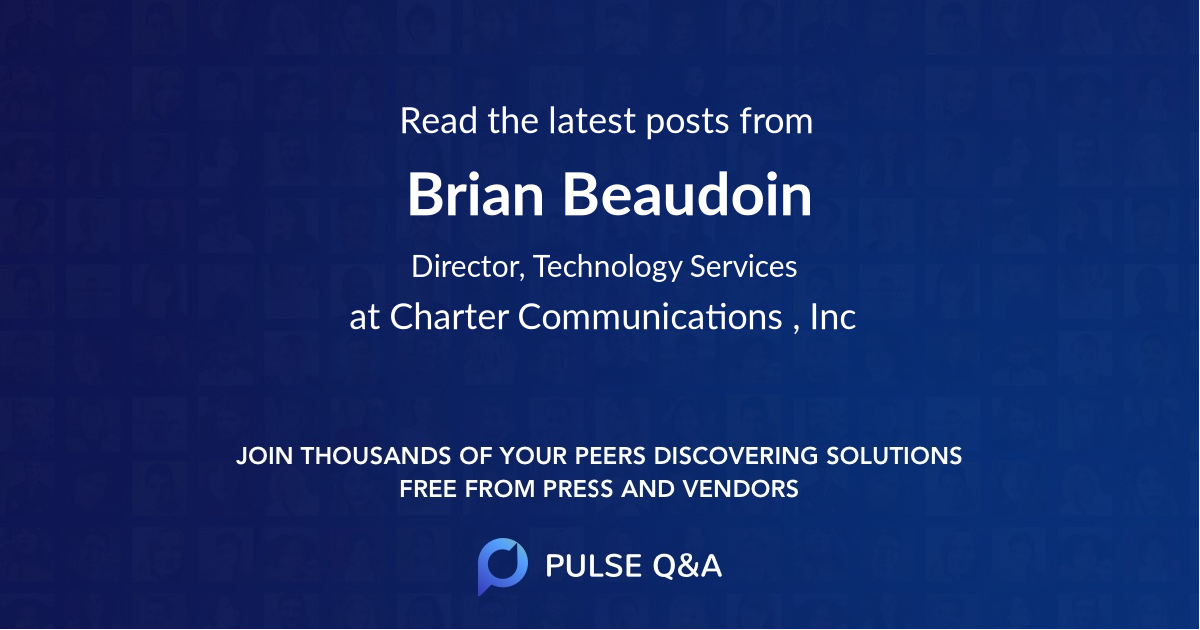 Brian Beaudoin