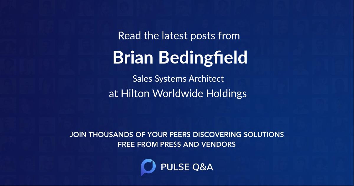 Brian Bedingfield