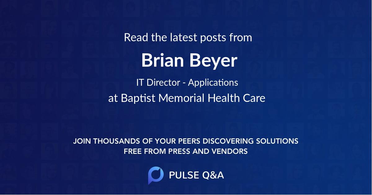 Brian Beyer