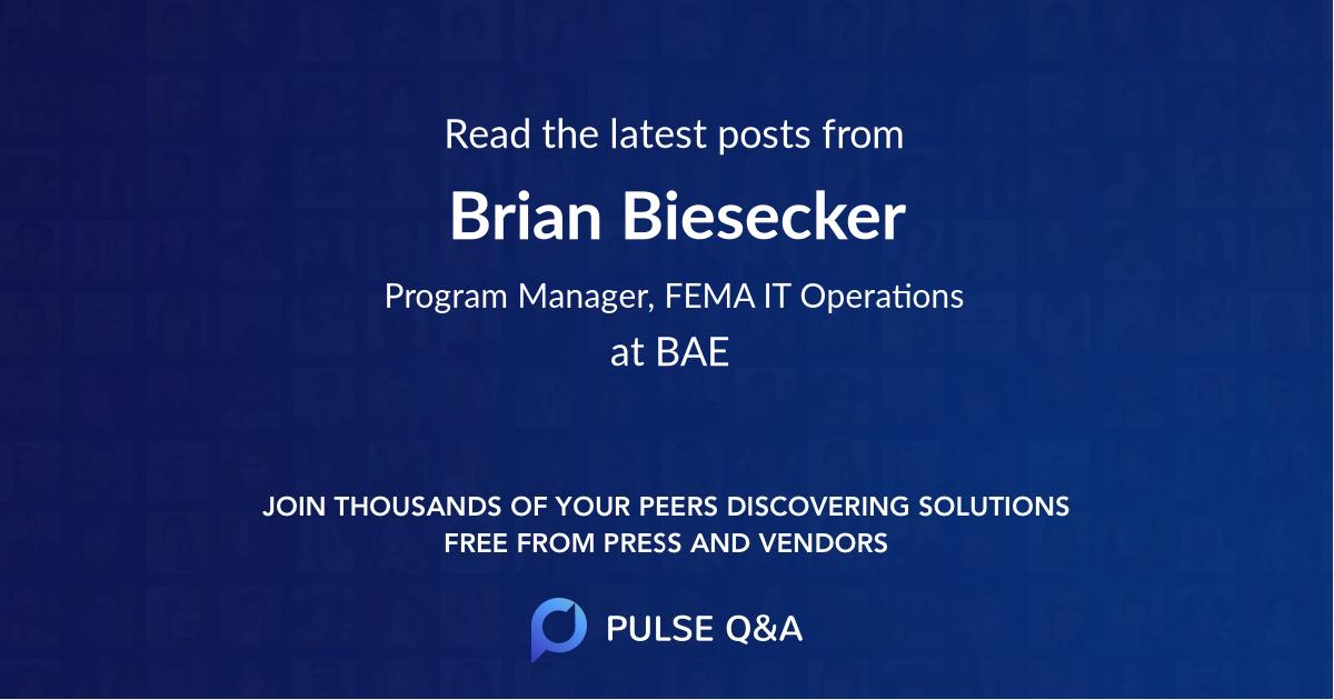 Brian Biesecker