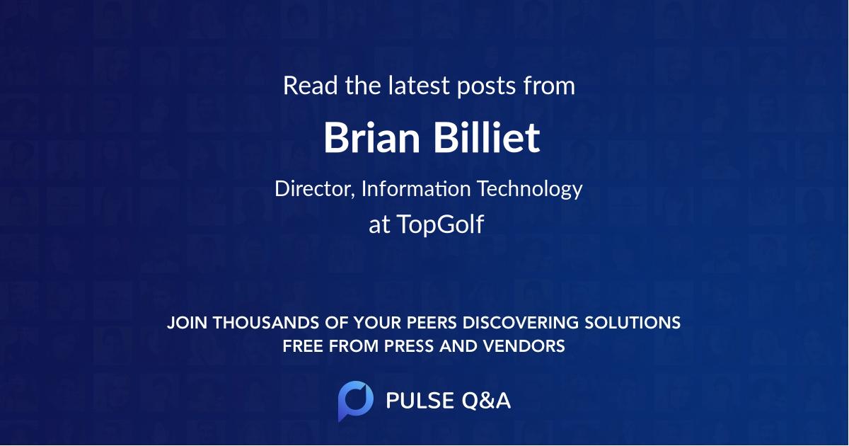 Brian Billiet