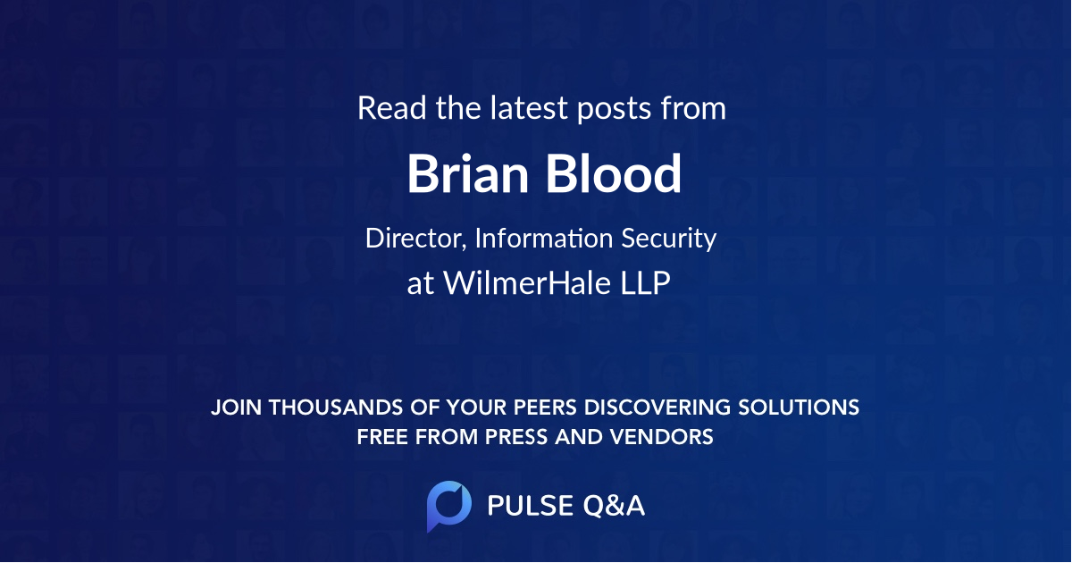 Brian Blood