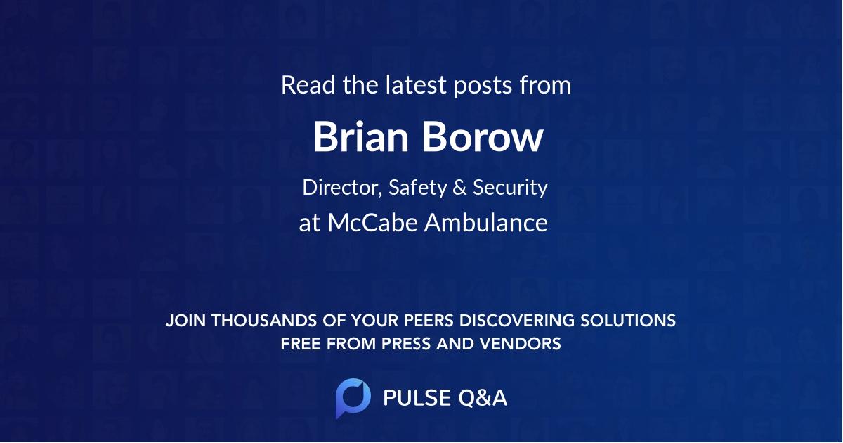 Brian Borow