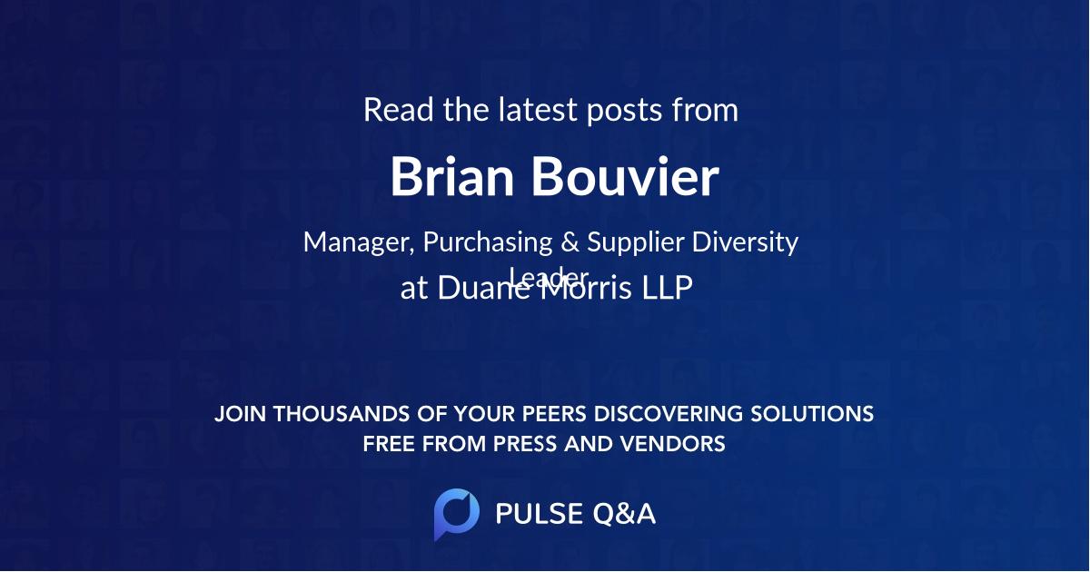 Brian Bouvier
