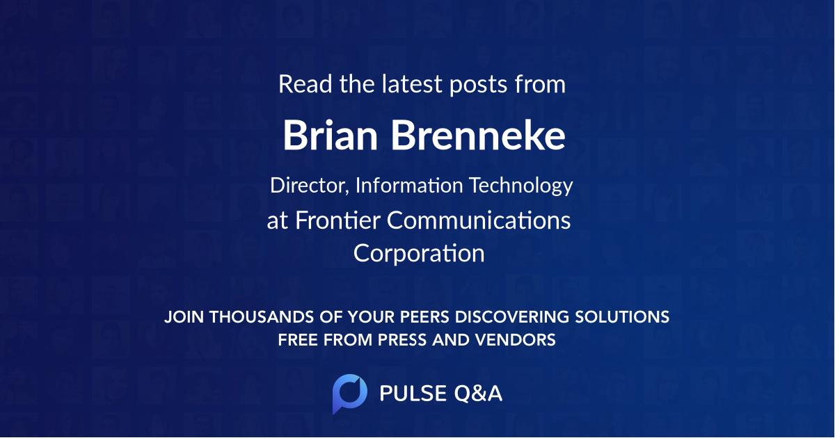 Brian Brenneke