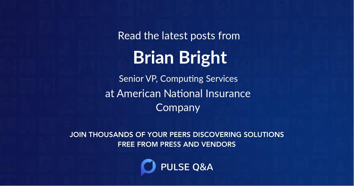 Brian Bright