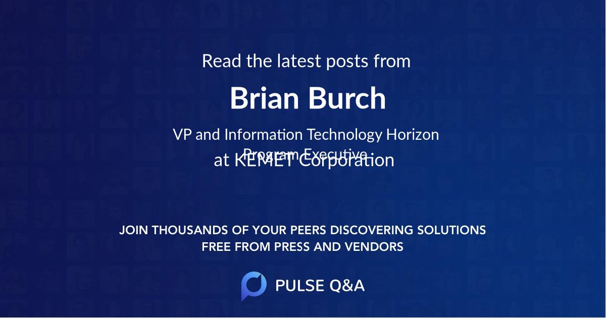 Brian Burch