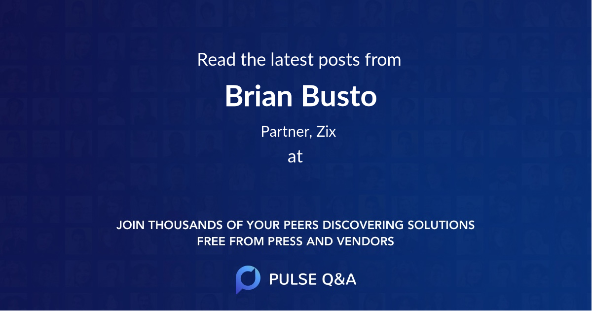 Brian Busto