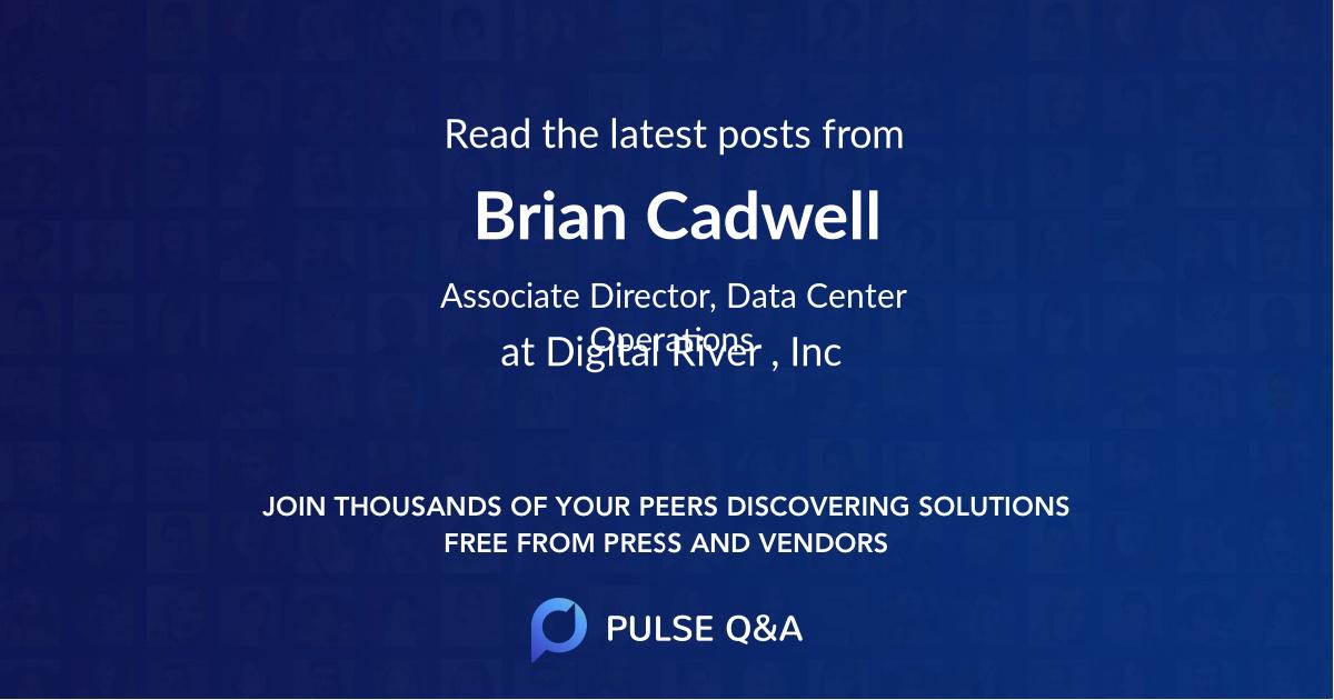 Brian Cadwell