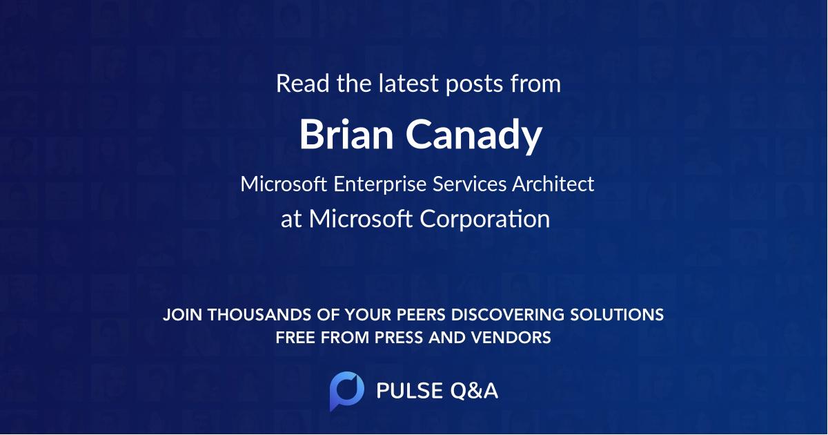Brian Canady