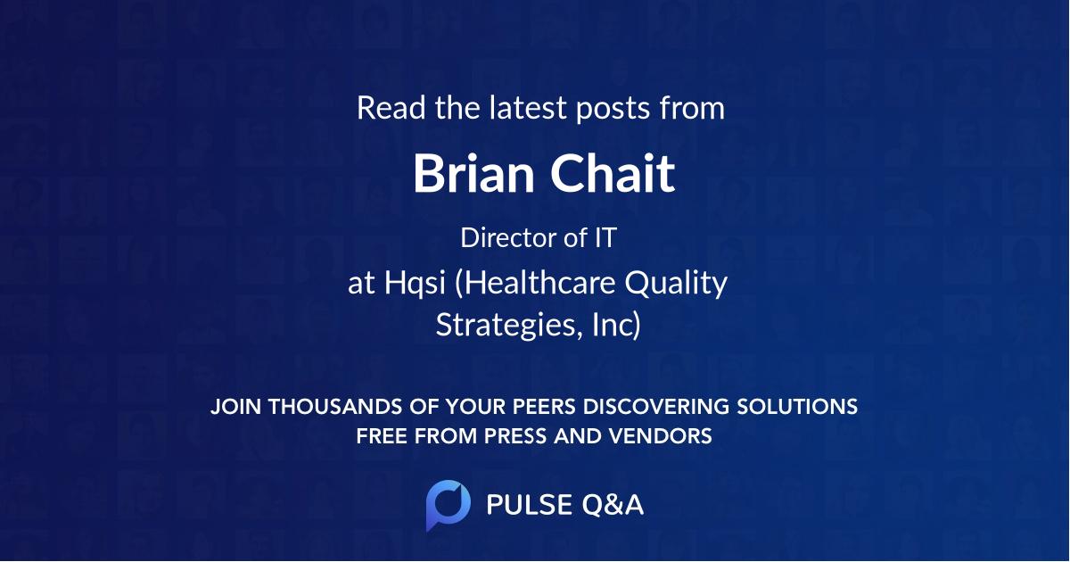 Brian Chait