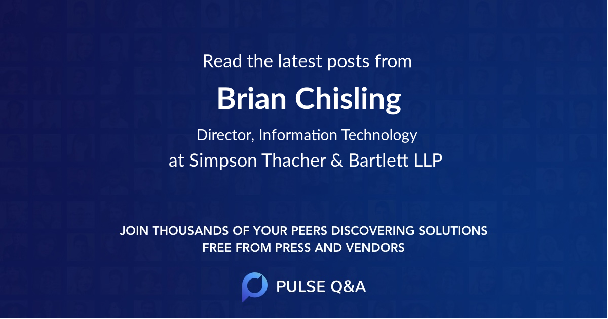 Brian Chisling