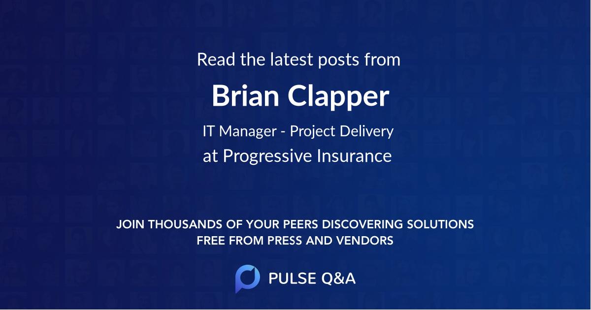 Brian Clapper
