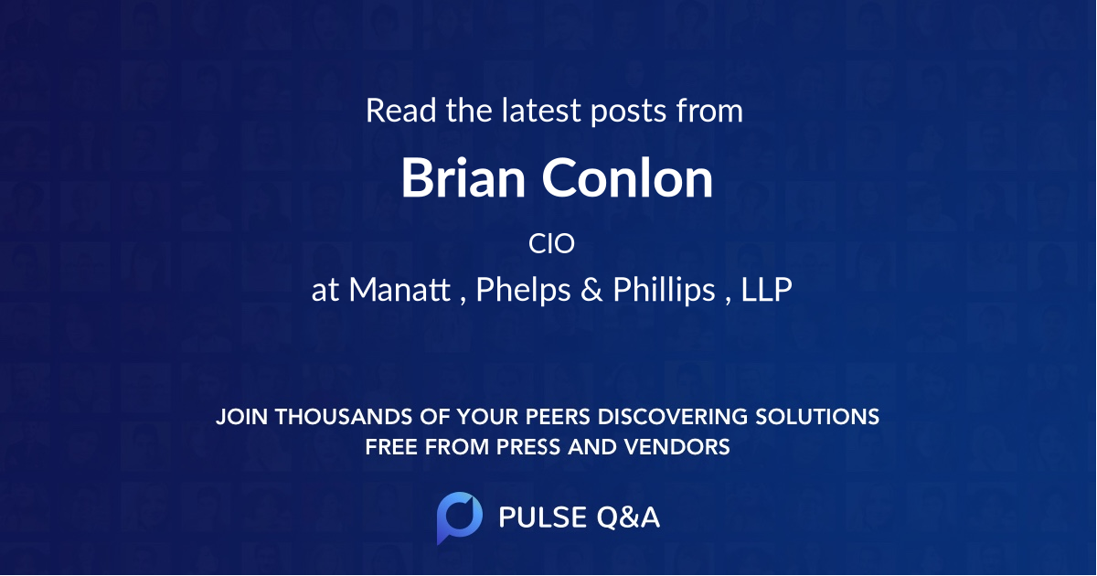Brian Conlon