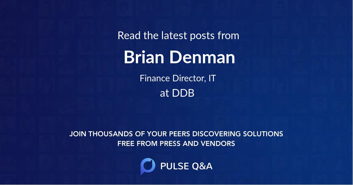 Brian Denman