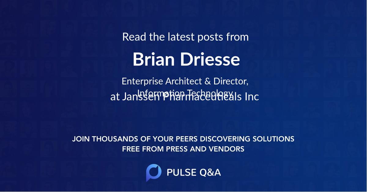 Brian Driesse