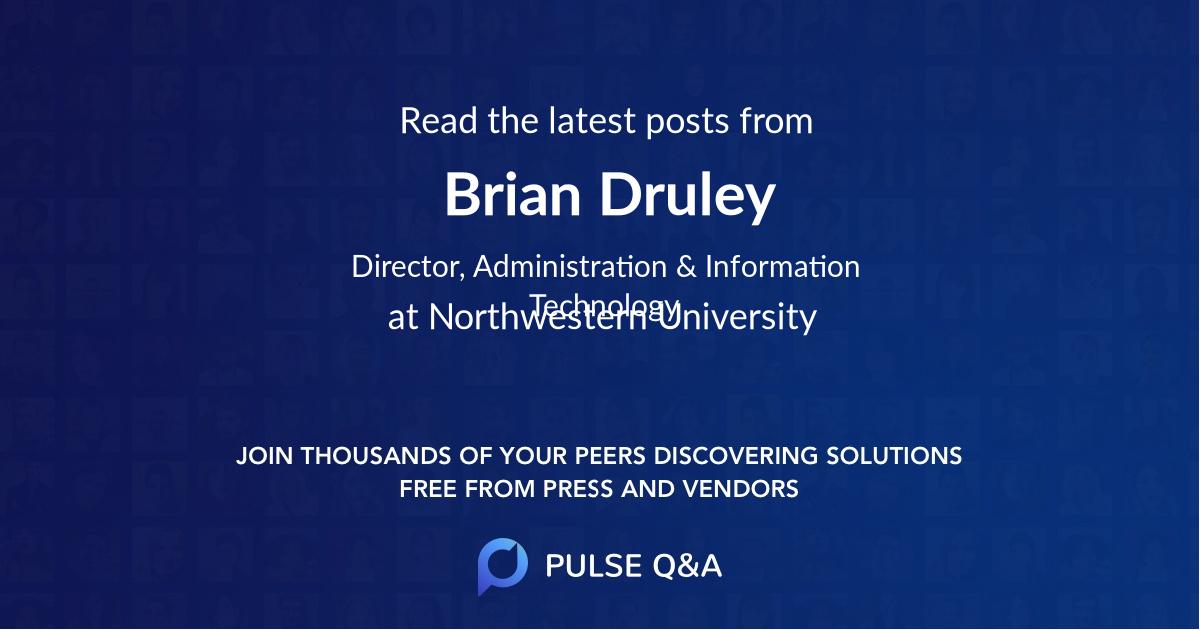 Brian Druley