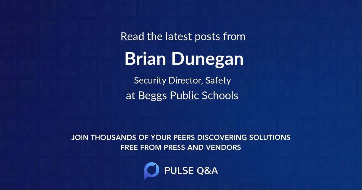 Brian Dunegan