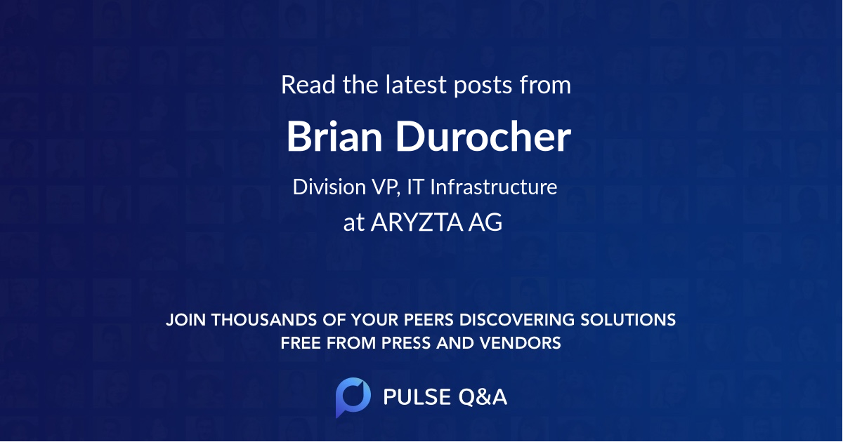 Brian Durocher