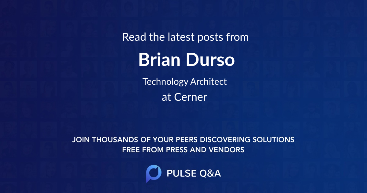 Brian Durso