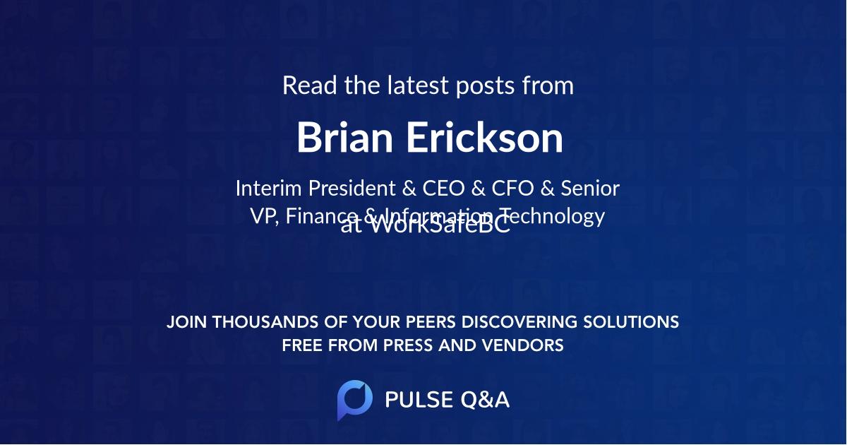 Brian Erickson