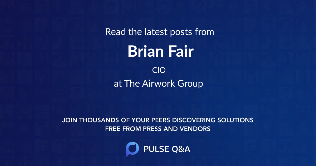 Brian Fair