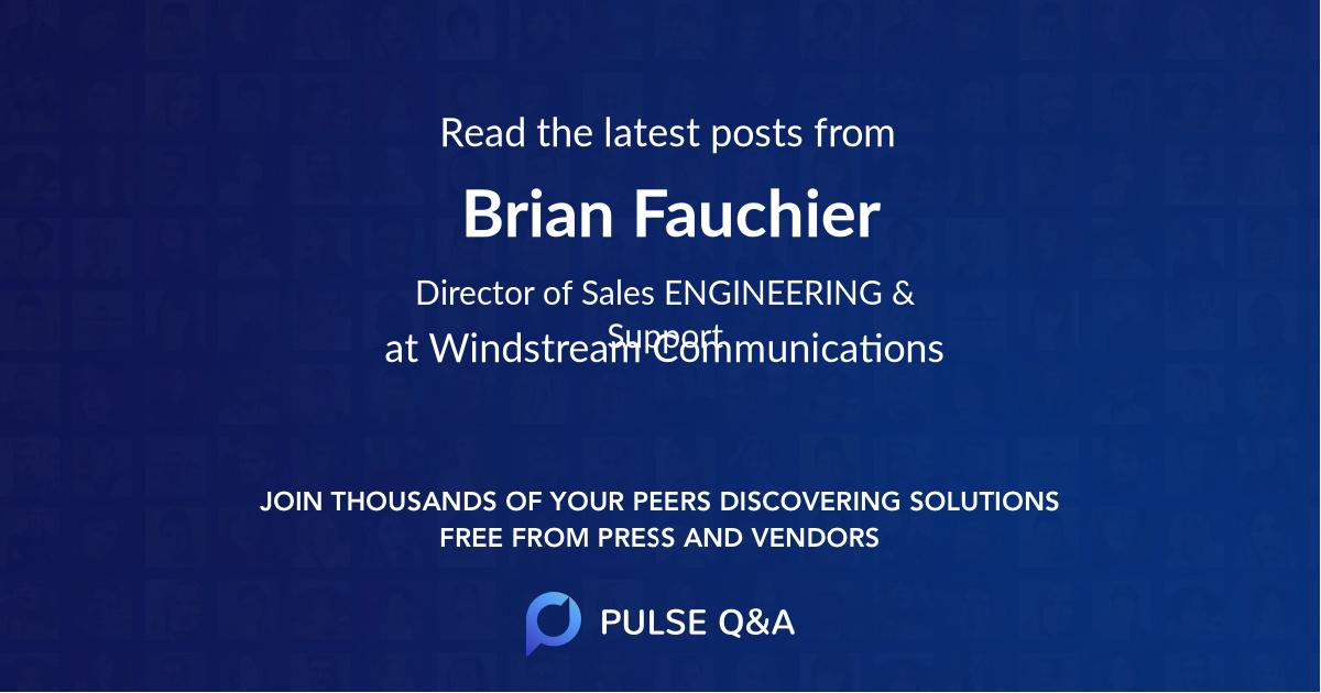 Brian Fauchier