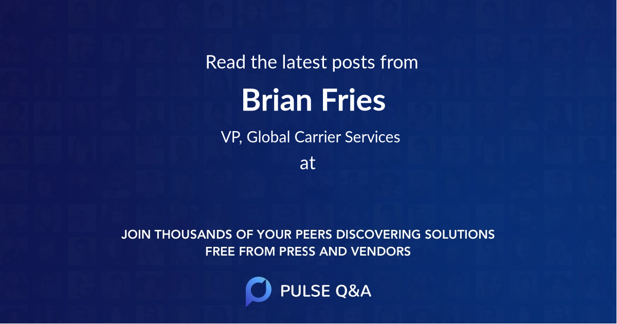 Brian Fries