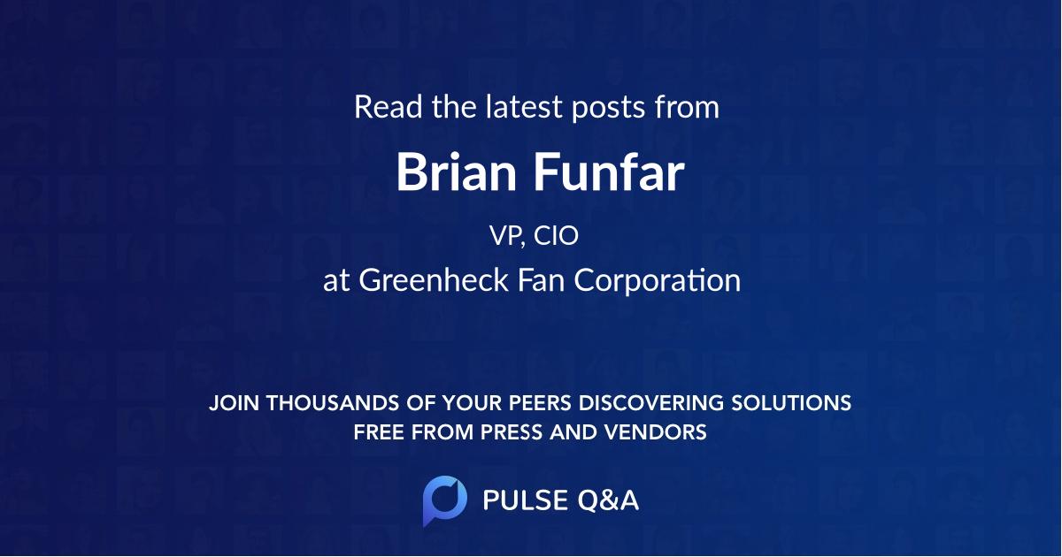 Brian Funfar