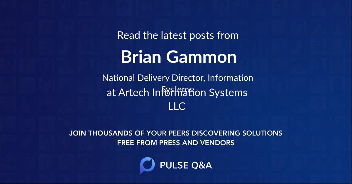 Brian Gammon