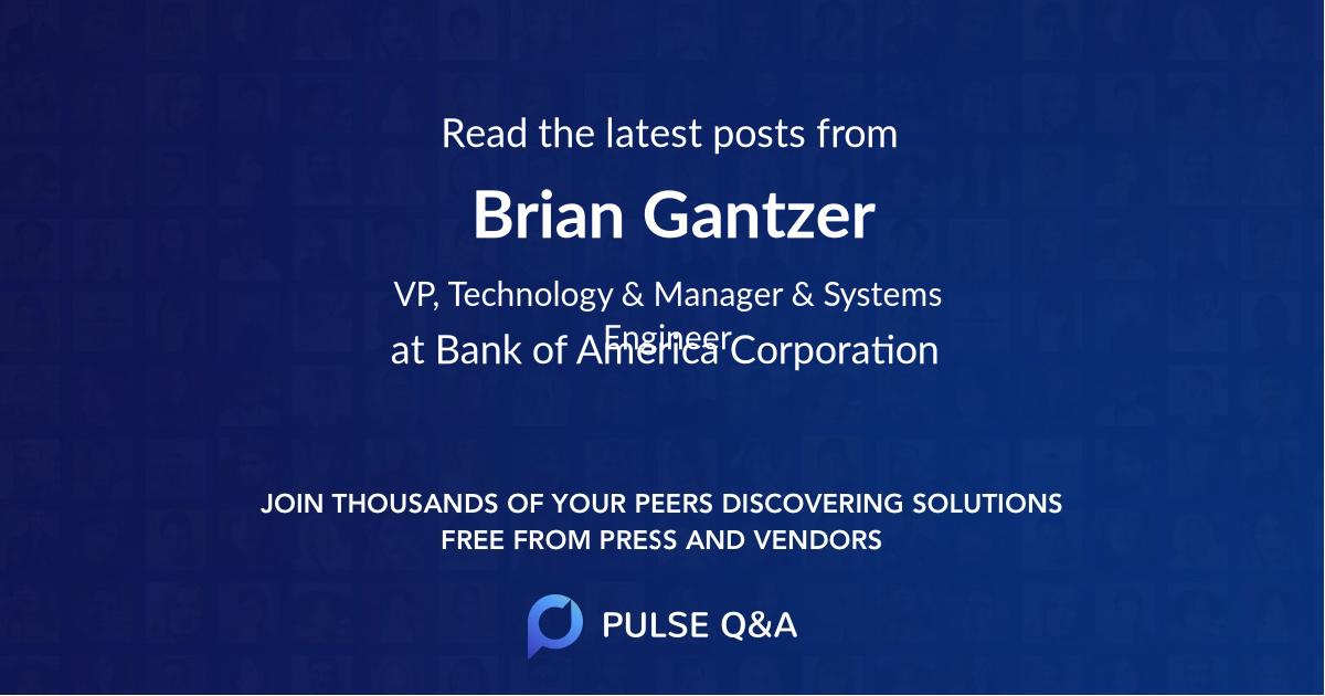 Brian Gantzer