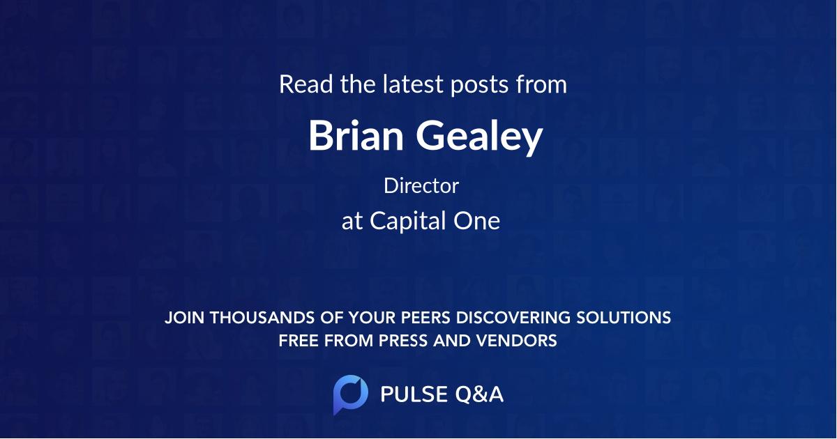 Brian Gealey