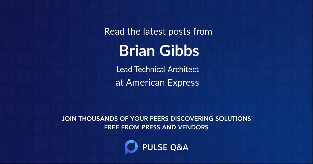 Brian Gibbs
