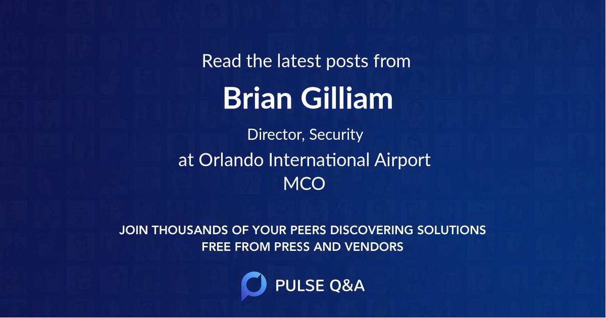 Brian Gilliam