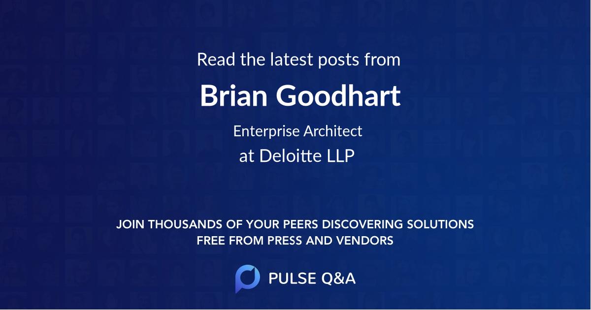 Brian Goodhart