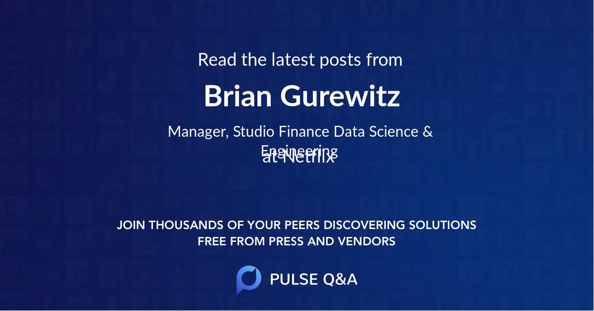 Brian Gurewitz